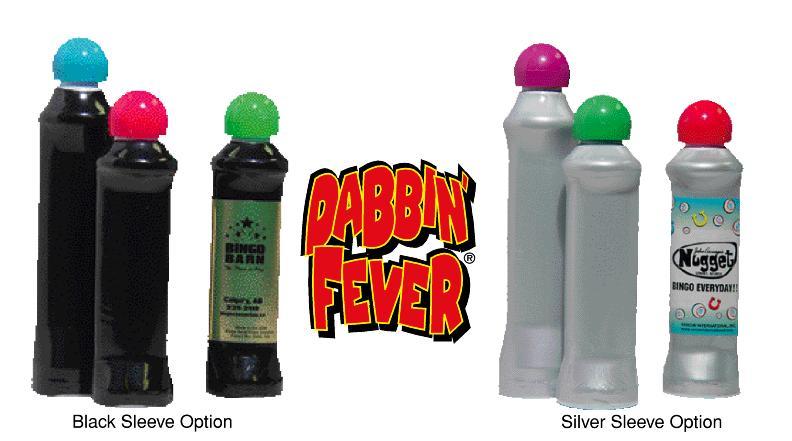 Dabbin FeverR Bingo Markers Custom Label Program